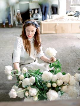 Peonies - White - Spring WEdding Bouquet - OKC