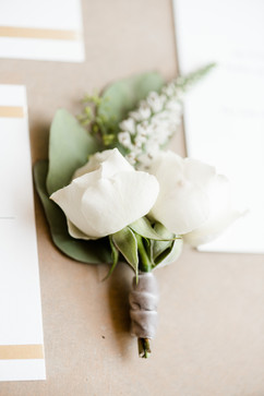 Groomsmen Bout - Spray Rose