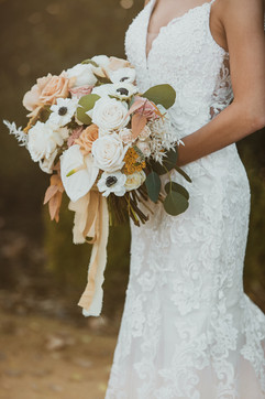Fall WEdding - Mustard - Anemone - Dyed Ribbon