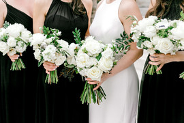 Gaylord Pickens Hall of Fame - Winter Wedding - Peonies - Garden Roses - OKC