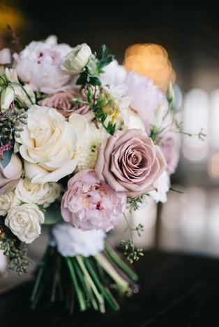 Magnolia Venue - Winter Wedding - Blush Bouquet
