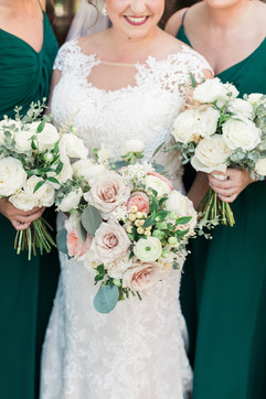 Summer WEdding - Blush and White - Gaillardia