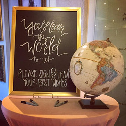 Guestbook Signage