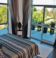 Paris suite king room with private bathroom in the eco-house
