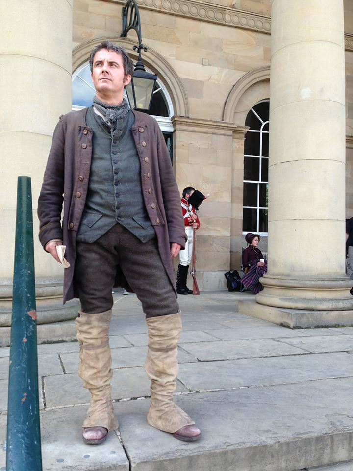 Mark Mathieson (in Character)