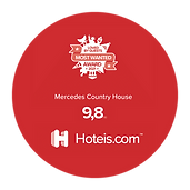 Hotels.com Award 2021 Mercedes Country House