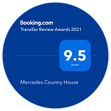 Mercedes Country House Booking.com award 2021