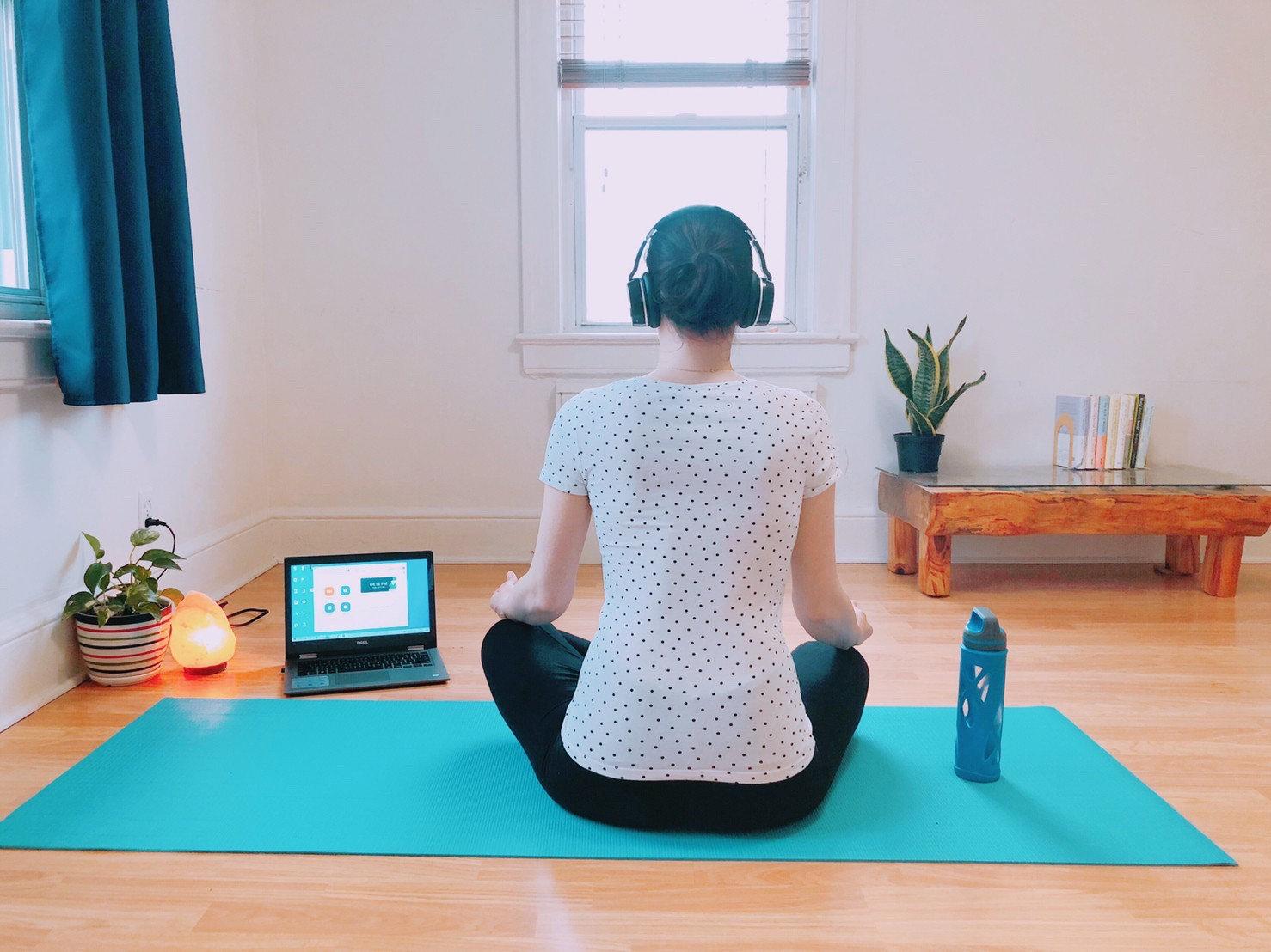 Clase de meditación online