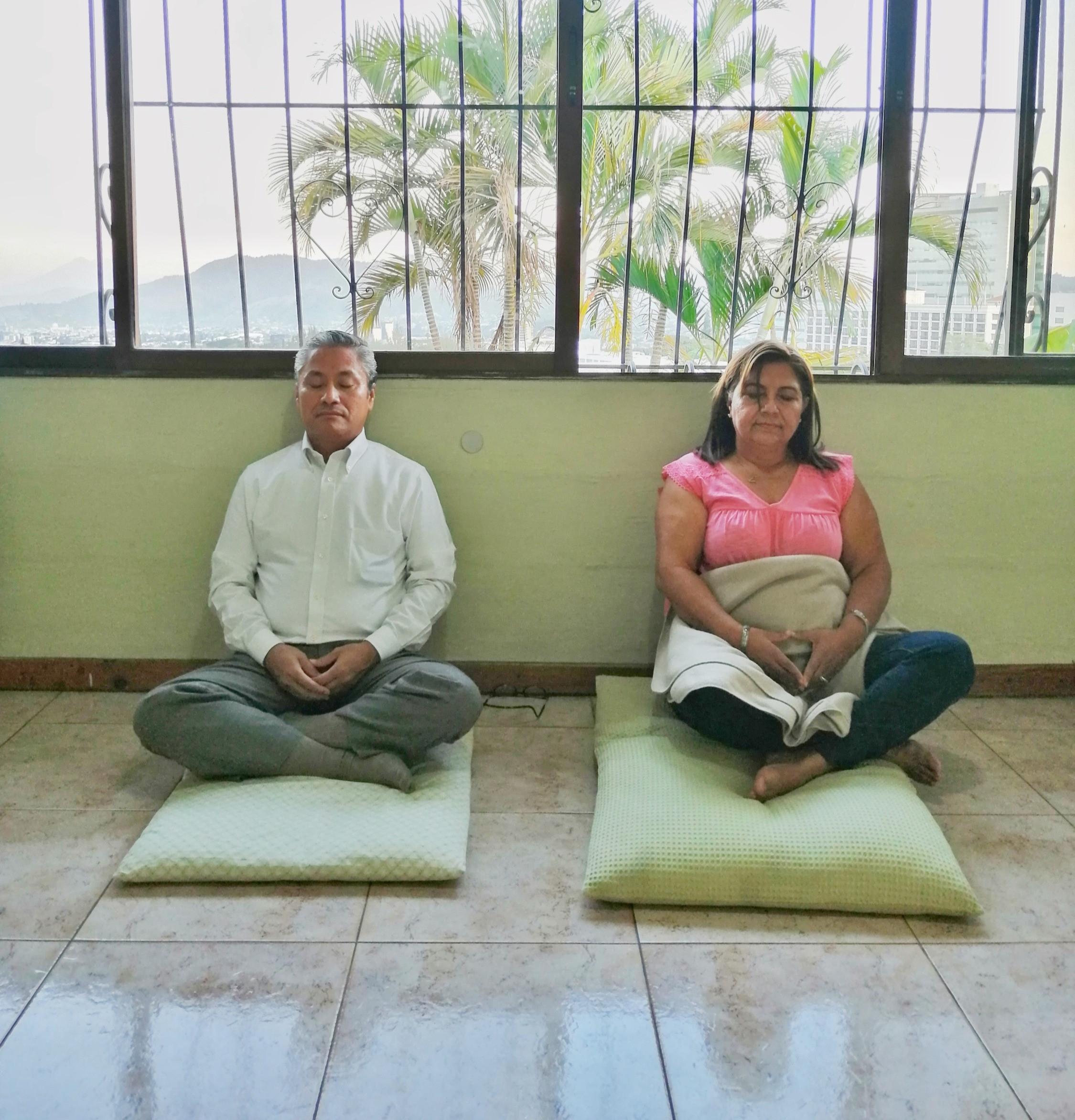 Clase de meditación presencial