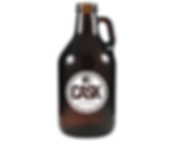 32oz. Amber Mini Growler