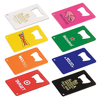 Powder Coated Credit Card Bottle Opener