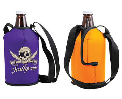 64 oz. Neoprene Growler Sleeve w/Strap
