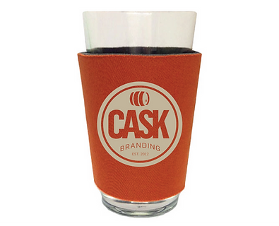 16 oz. Pint Glass Sleeve -  No Bottom