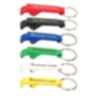 Hard Plastic Bottle Opener Keyring