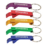 Anodized Aluminim Bottle Opener Keyring