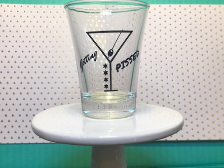 Buy a shot glass for charity!