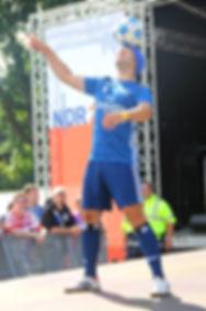 Florian Halimi Fußball Freestyler