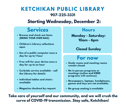 Library services December 2020