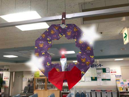 クリスマスの折り紙オーナメント
