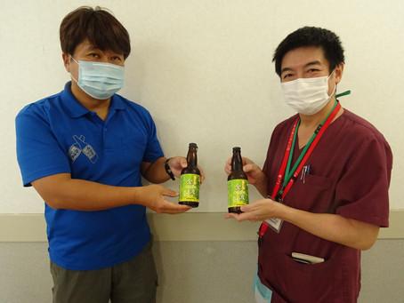 石垣島地ビールを頂きました