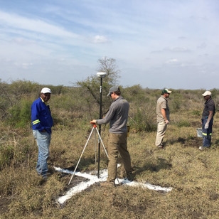 Steve conducting a Ground Survey