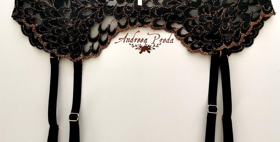 Black Swan V-cut Suspender