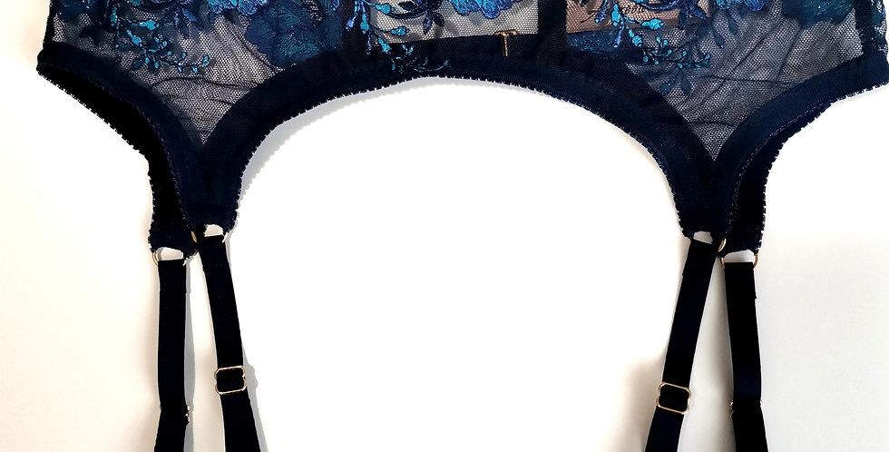 Royal Blue Garter-Belt