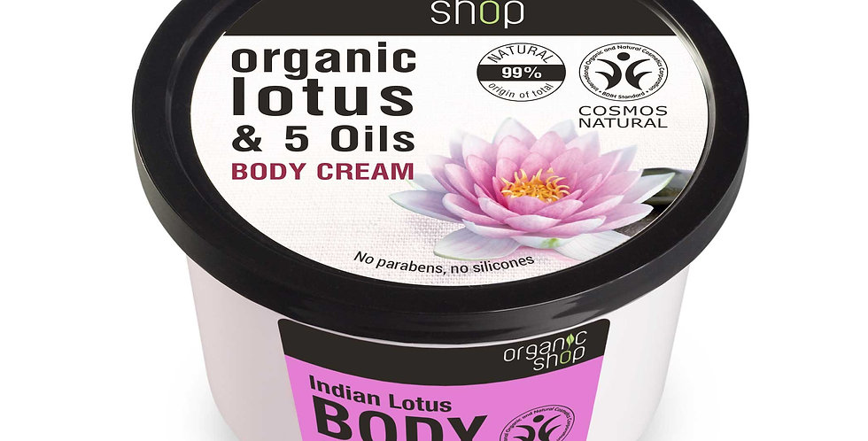 Organic Shop Indian Lotus Ravitseva Vartalovoide