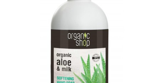 Organic Shop käsisaippua Aloe 500ml