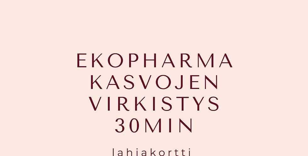 Lahjakortti EKOPHARMA Kasvojen virkistys 30min