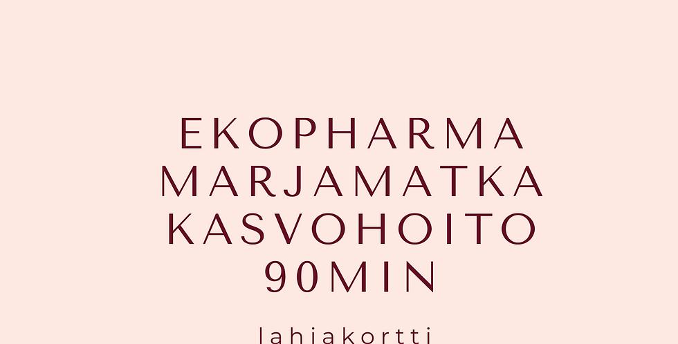 Lahjakortti EKOPHARMA Marjamatka kasvohoito 1.5h