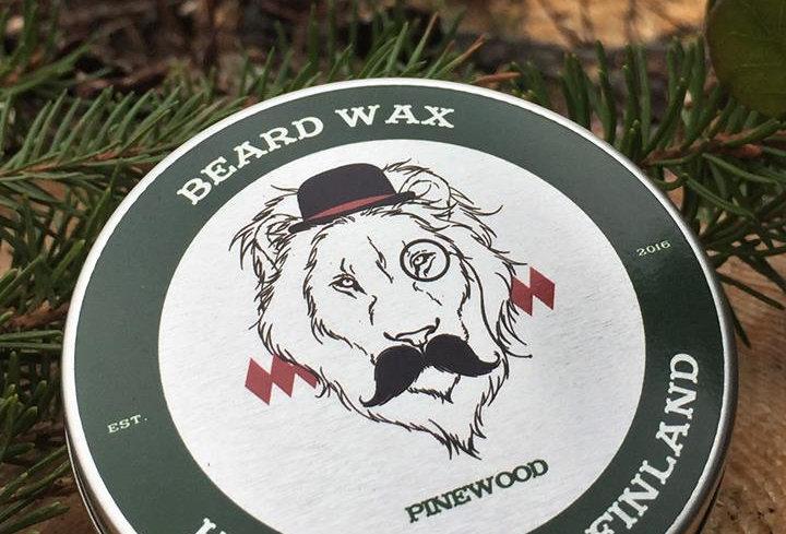 Beardlion brand partavaha 50ml Pinewood