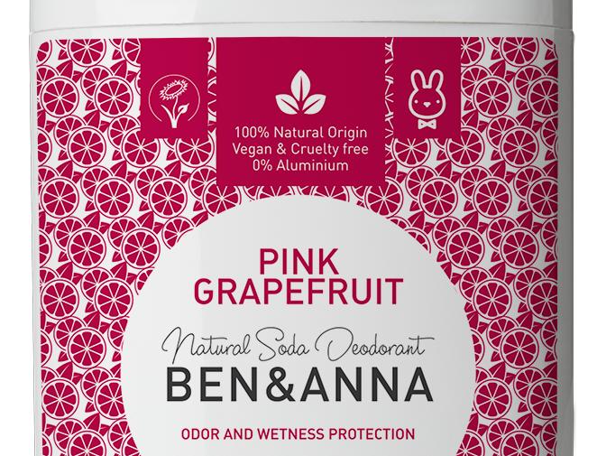 Ben&Anna Pink Grapefruit Deodorantti Stick 60g