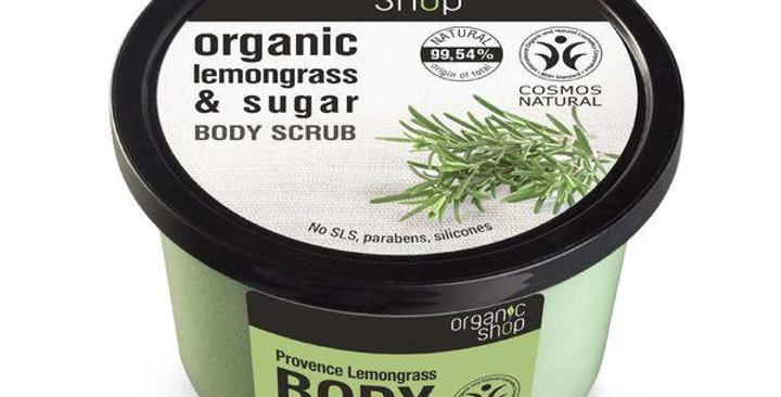 Organic Shop Lemongrass&Sugar vartalokuorinta 250ml