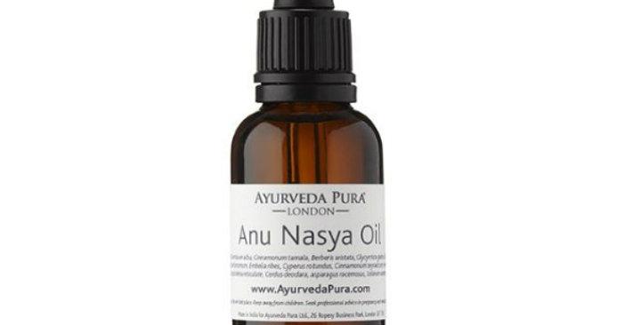 Ayurveda Pura Anu Nasya Oil puhdistava nenäöljy