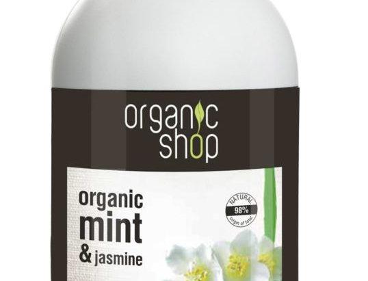 Organic Shop Mighty Mint & Jasmine käsisaippua 500ml