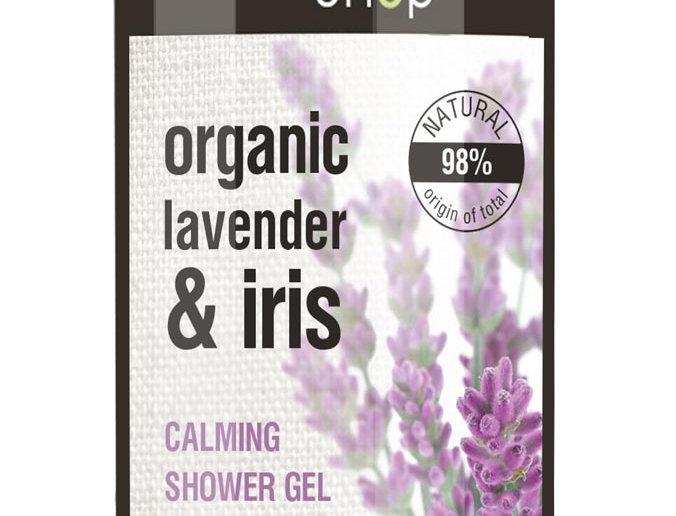 Organic Shop suihkugeeli Lavender& iris 280 ml