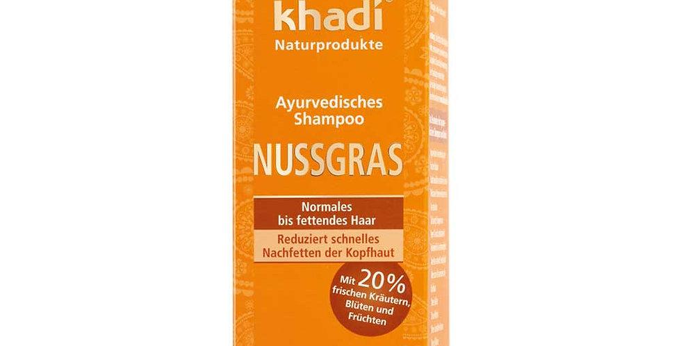Khadi Nussgrass Shampoo Normaaleille Hiuksille 200ml