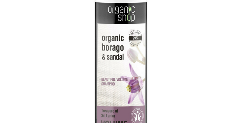 Organic Shop Volume Tuuheuttava Shampoo