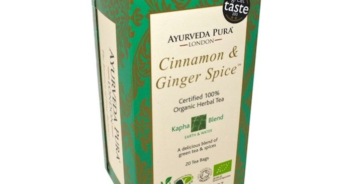 Ayurveda Pura Kapha Yrttitee Cinnamon&Ginger Spice