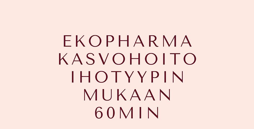 Lahjakortti EKOPHARMA kasvohoito ihotyypin mukaan