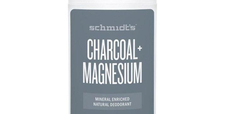 Schmidts Charcoal+ Magnesium Hiili-magnesium Deodorantti Stick 75g