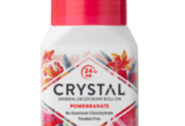 Crystal essence Mineraali/suoladeo Roll-on Granaattiomena 66g