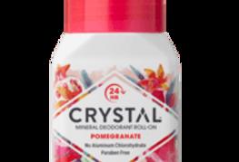 Crystal essence Mineraali/suoladeo Roll-on Granaattiomena 66g