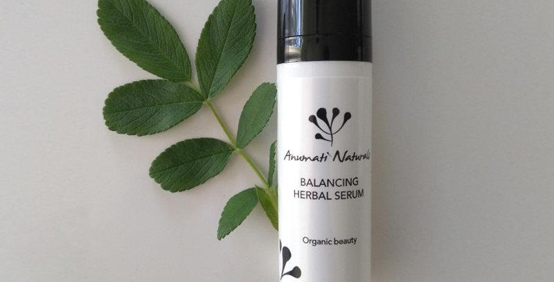Anumati Naturals Balancing Herbal serum, tasapainoittava hoitoseerumi