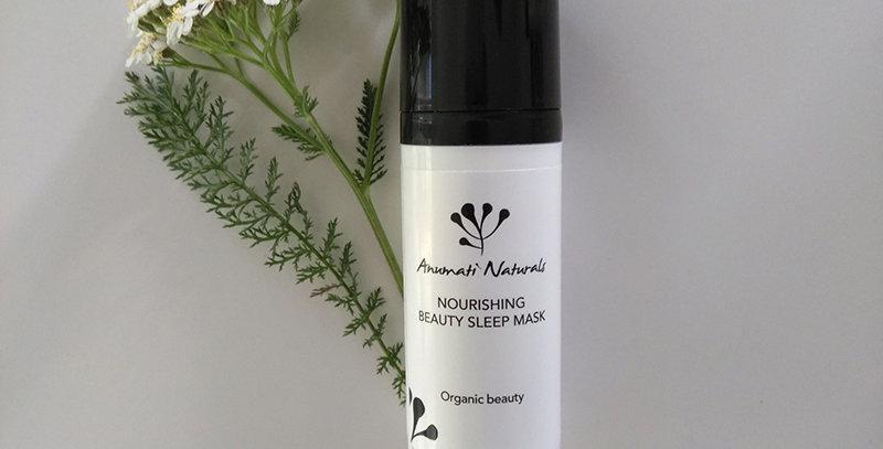 Anumati Naturals Nourishing beauty sleep mask kosteuttava elvyttävä naamio 50ml