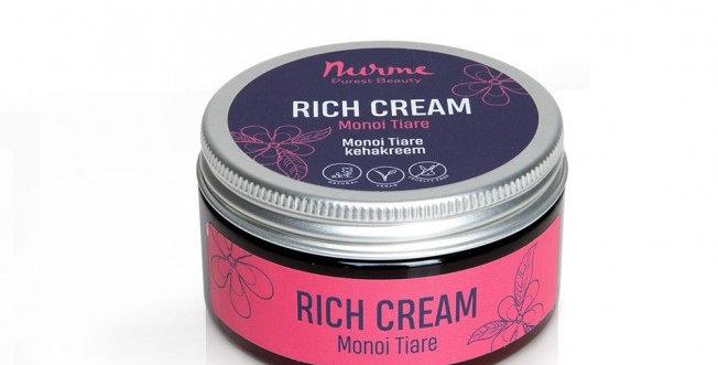Nurme Monoi Tiare Rich Cream 100ml