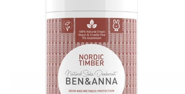 Ben&Anna Nordic Timber Deodorantti Stick 60g
