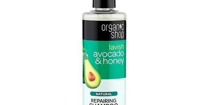 Organic Shop Avocado & Honey Shampoo