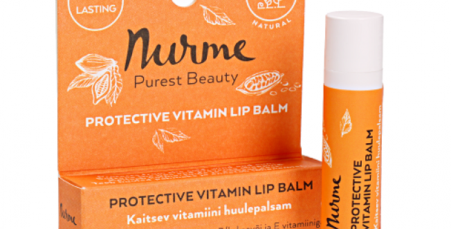 Nurme Protective Vitamin Lip Balm Huulivoide 4,5g